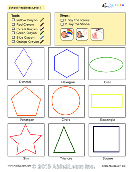 Printing Book : Learning Shapes