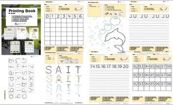 Value Pack Visual Printing Book Mega Pack: 7 Books: Language and Literacy