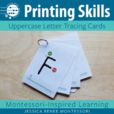 Printing Tracing Cards: Uppercase Alphabet