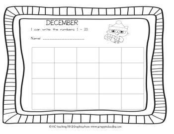 Printing Numbers 1 - 20 December