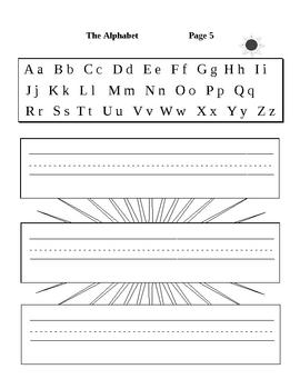 Printing Our Alphabet