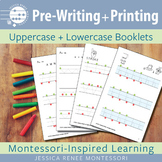 Pre-Writing and Printing Uppercase + Lowercase Booklets for Letter Formation