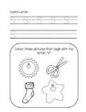 Printing Practice Following Jolly Phonics Order