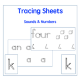 Printing Practice: Numbers, Sounds