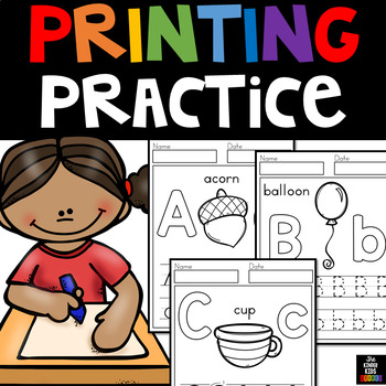 Printing Practice - PreK & K