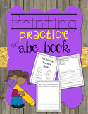 Printing Practice and Alphabet Book
