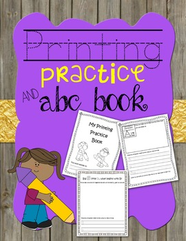 Printing Practice and Alphabet Book