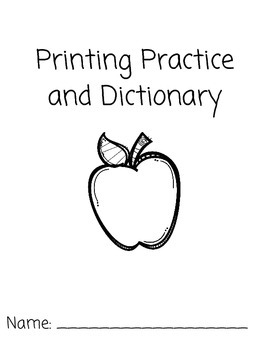 Printing Practice and Dictionary