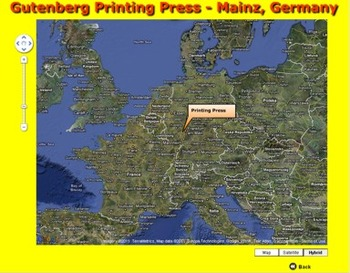 Printing Press - Google Maps - Bill Burton