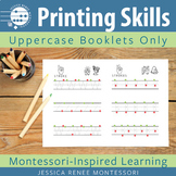 Printing Skills Booklet Capitals Only (Easy Assembly)