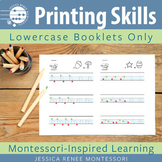 Printing Booklets for Lowercase Letter Formation Practice
