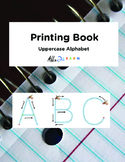 Printing book: Uppercase Alphabet