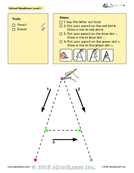 Printing book: Uppercase Alphabet