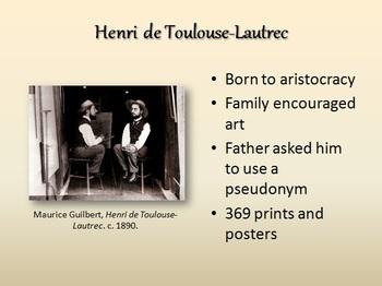 Printmakers and Dancers: Henri de Toulouse-Lautrec Lecture