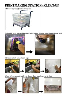 Printmaking Clean-up Procedures