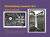 Printmaking Lesson K-5