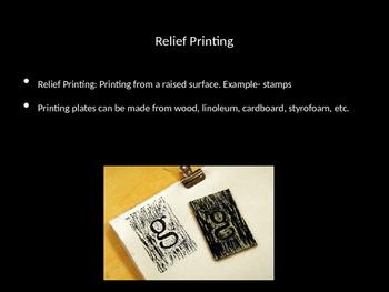 Printmaking PowerPoint