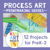 Printmaking Process Art Projects for PreK-2