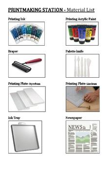 Printmaking Station Bundle