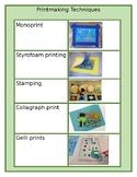 Printmaking Techniques