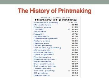 Printmaking made easy!