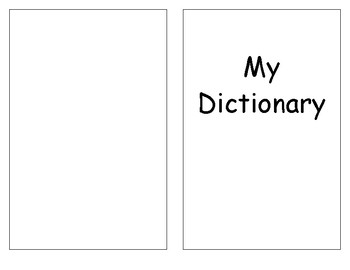 Printout for Student Dictionary