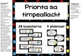 Prionta sa Timpeallacht - Black polkadot