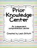 Prior Knowledge Comprehension Center