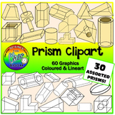 Prism Clipart (Geometry, Math)