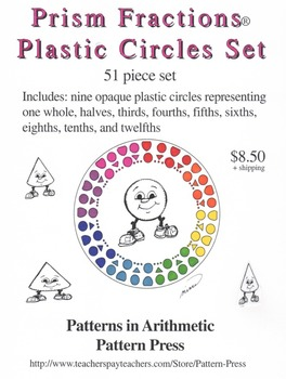 Prism Fractions® Plastic Circles Set