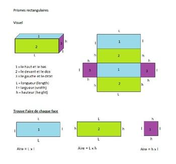 Prismes rectangulaires