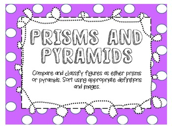 Prisms & Pyramids
