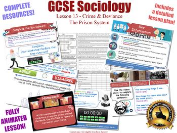 Prison, Punishment, Sentencing - Crime & Deviance L13/20 (GCSE Sociology)