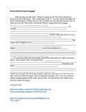 Prison Reform Unit + Activities - High School