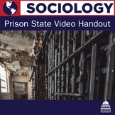 Prison State Video Handout | Sociology