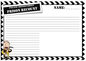 Prison excursion recount