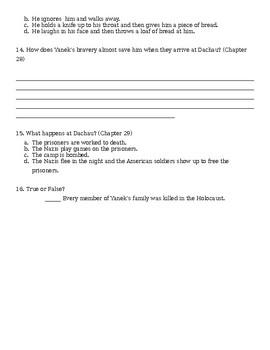 Prisoner B-3087 Chapter 19-30 Quiz