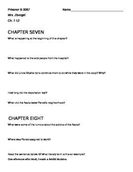 Prisoner B-3087 Chapters 7-12