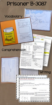 Prisoner B-3087 Abridged Novel Study: vocabulary, comprehension, writing