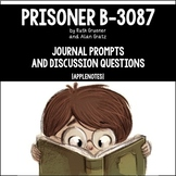 Prisoner B-3087 by Alan Gratz {Journal Prompts & Discussio