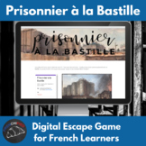 Prisoner in the Bastille - digital escape game - passé composé
