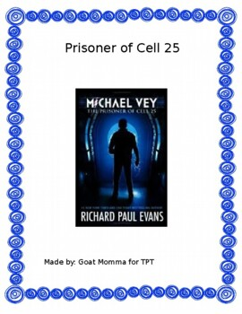 Prisoner of Cell 25 Novel Literature Guide