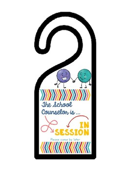Privacy Door Hanger for Counseling Sessions