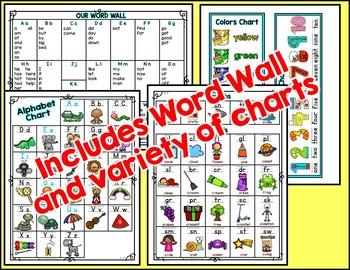 Privacy Folder {Includes EDITABLE WORD WALL, Alphabet Chart} Pineapple Theme