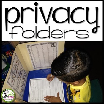 Privacy / Resource Folder for Math and Literacy