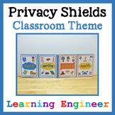 Writing Office, Privacy Shield, Testing Shield, Focus Shie