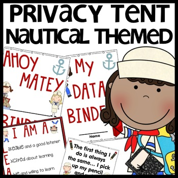 Privacy Tent (Nautical Themed)