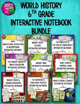 Private Listing  for ALVIN ISD: World History Interactive Notebook BUNDLE
