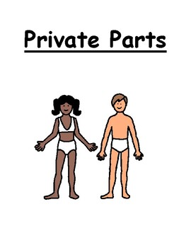 Private Parts Social Story