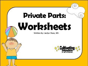 Private Parts Worksheet